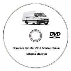 Mercedes Sprinter 2016 - Service Manual + Schema Electrica - Manual auto
