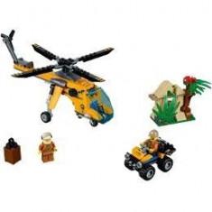 Lego City. Elicopter de marfa in jungla