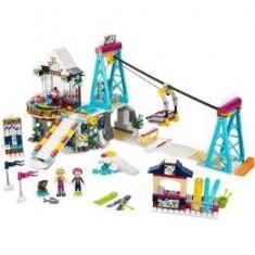 Lego Friends. Schiliftul statiunii de iarna
