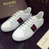 Adidasi barbatesti Gucci - Super Promotie!!!, 42, Alb, Piele naturala
