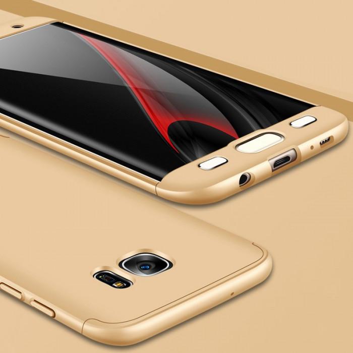 Husa Samsung Galaxy S7 Edge - GKK Protectie 360° Aurie