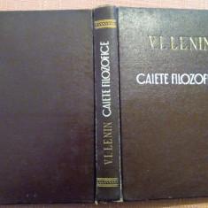 Caiete Filozofice - V. I. Lenin - Carte Politica