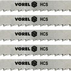 Set 5 panze pentru fierastru pendular lemn 6 TPI VOREL - Macheta Navala