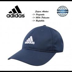 Sapca Adidas Bleumarina - Originala - Reglabila - Polyester - Detalii in anunt - Sapca Barbati Adidas, Marime: Marime universala