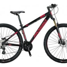 "Bicicleta MTB Mosso Raceline , Roata 29"" , Altus 24 , Cadru 20 , Culoare Negru/RPB Cod:M01MSO2930420003"