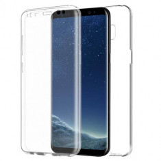 Husa Samsung Galaxy S8 Plus - Protectie 360° Fata Spate Full Cover, Gel TPU, Carcasa