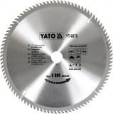 Disc fierastrau wolfram pentru lemn 300 mm x 96T YATO