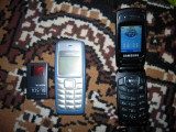 Telefon mobil SAMSUNG SGH-X200, blocat VODAFONE, stare buna, Argintiu