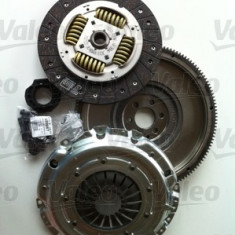 Kit ambreiaj 4P (set ambreiaj +volanta masa dubla) motor Vw 1, 9 si 2, 0 TDI VALEO 835035
