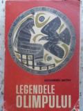 Legendele Olimpului Cu Ilustratii (interior Ok, Dar Trebuie R - Al. Mitru ,415144