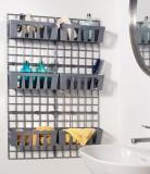 Raft depozitare pentru usa sau perete cu 6 cosuri