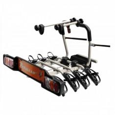 Suport Bicicleta Peruzzo Parma 706/4 pentru 4 biciclete cu prindere pe carligul de remorcare