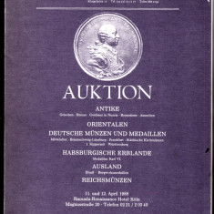 Catalog licitatie  Koln 1988 antice,medievale,orientale,habsburgice alte tari