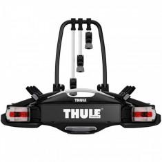 Suport Bicicleta Thule VeloCompact 927 pentru 3 biciclete cu prindere pe carligul de remorcare