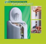 Dispenser pungi de plastic cu ventuza