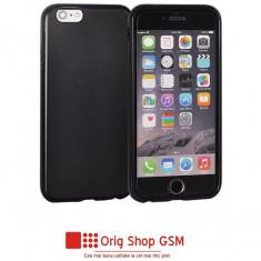 Husa Silicon Matt Huawei Mate 10 Lite Negru - Husa Telefon