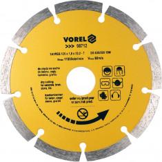 Disc diamantat segmentat 125 mm VOREL