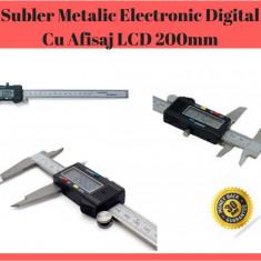 Subler  Digital 200 mm Electronic Din Inox Cu Afisajl LCD