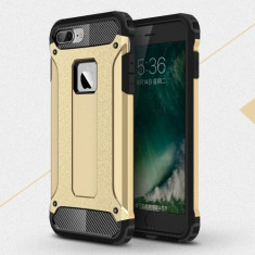 Husa iPhone 7 Plus - Hybrid Armor Gold - Husa Telefon, iPhone 7/8 Plus, Gel TPU