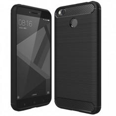 Husa protectie IMPORTGSM pentru Xiaomi Redmi 4X, Plastic, Capac Spate, Ultra Slim, Neagra