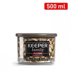 Cutie multiple intrebuintari 500 ml capac maro