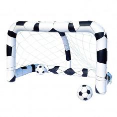 Poarta fotbal gonflabila Bestway, 213 x 122 x 137 cm
