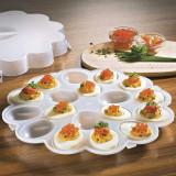 Platou pentru oua cu capac