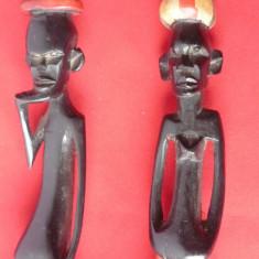 ARTA AFRICANA DOUA STATUETE - Arta din Africa