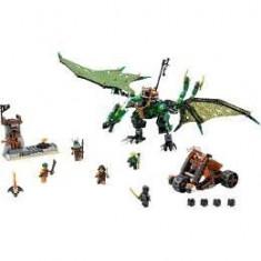 Lego Ninjago Dragonul Verde NRG 8-14 ani
