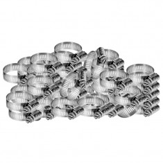 Set 50 coliere fixare RoGroup, otel zincat, 2 inch, 50 mm
