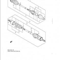 Planetara completa punte fata Suzuki Swift III SKF VKJC 6917