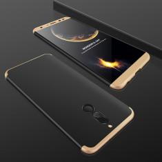 Husa Huawei Mate 10 Lite - GKK Protectie 360 Grade Negru cu Auriu - Husa Telefon