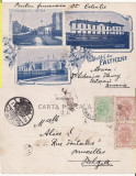 Falticeni (Suceava,Bucovina)-Colaj, Cazarma, Strada Mare- clasica,rara, Circulata, Printata