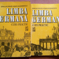 Limba Germana. Curs Practic, 2 Volume - Emilia Savin, Ioan Lazarescu - Curs Limba Germana miron