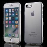Husa iPhone 7 - Protectie 360° Tip Carte Transparenta, iPhone 7/8, Gel TPU, Carcasa