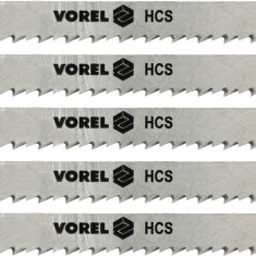 Set 5 panze pentru fierastru pendular lemn 100 mm VOREL - Macheta Navala