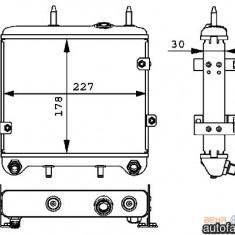 Radiator ulei CV Manuala Vario (poz.5) HELLA 140 501 16 01