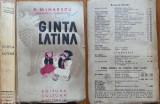 P. Mihaescu ( Sarmanul Klopstock ) , Ginta latina , 1936 , editia 1