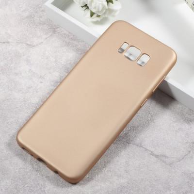 Husa Samsung Galaxy S8 - Gel TPU Soft Matte Gold foto