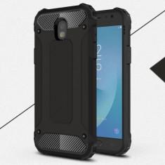 Husa Samsung Galaxy J7 2017 - Hybrid Armor Black, Gel TPU