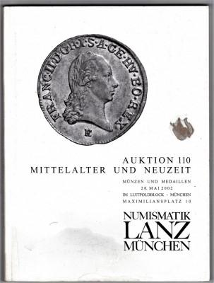Catalog licitatie 110/2002 LANZ Munchen foto