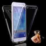Husa Samsung Galaxy J7 2017 - Protectie 360° Fata Spate Full Cover, Gel TPU, Carcasa