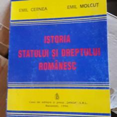 Istoria Statului Si A Dreptului Romanesc - molcut ,cernea