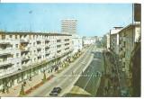 Carte postala(ilustrata )- BACAU-Calea Marasesti, Circulata, Fotografie