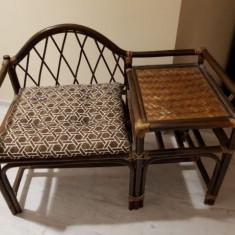 Vand scaun, lemn bambus