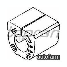 Bucsa bara stabilizatoare fata Fiat Punto II TOPRAN 55700769
