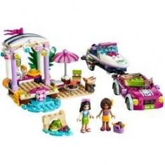 Lego Friends. Barca Transportatoare cu motor a Andreei