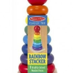 Rainbow stacker. Piramida curcubeu - Stilou