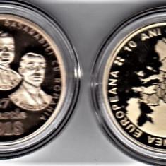 LOT 50 bani 2018 + 2017 Unirea Romaniei cu Basarabia si 10 ani UE PROF - Moneda Romania
