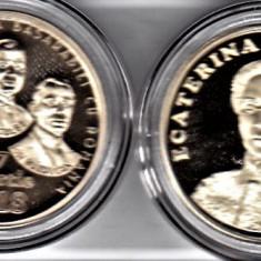 LOT 50 bani 2018+2017 Unirea Romaniei cu Basarabia si Ecaterina Teodoroiu PROF - Moneda Romania